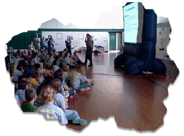 Presentation at Elementary School